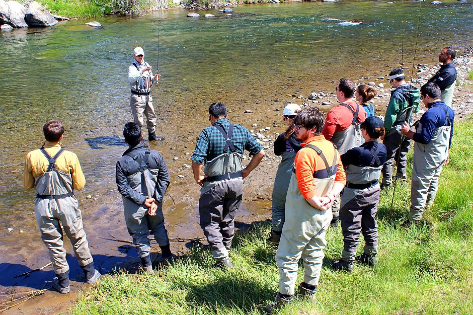 Truckee River Lake Tahoe Fly Fishing Clinics