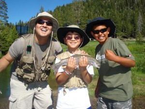 Truckee River Lake Tahoe Fly Fishing Kids 13