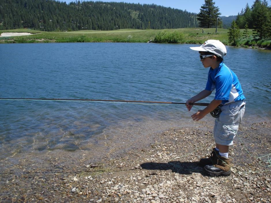Creek creatures truckee river lake tahoe fly fishing for Fly fishing classes